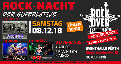 ROCK OVER FARRNBACH |  ROCKEVENT 08.12.2018